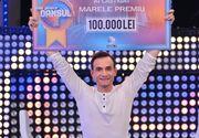 """Ștefan este câștigătorul show-ului """"Îmi place dansul"""". Telespectatorii Kanal D au decis, în finala de aseară, cine să câștige premiul de 100.000 de lei!"""