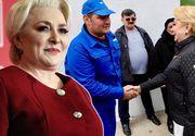 Viorica Dăncilă, în campanie cu geacă de sute de euro! Șefa PSD a ales același brand ca Adrian Năstase când a vrut să se sinucidă