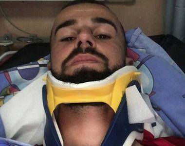 """Jucător român de fotbal, de urgență la spital: """"Am căzut în cap, după aceea mi s-a..."""