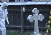 Descoperire macabră în Dolj: A fost găsit spânzurat de o cruce din cimitir