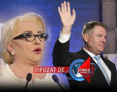 VIDEO | Viorica Dăncilă i-a cerut preşedintelui o confruntare televizată - Șeful...