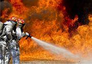 Incendiu la biblioteca unei şcoli din Tulcea. Aproximativ 200 de persoane au fost evacuate