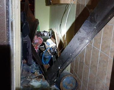 Explozie într-un bloc de garsoniere din Tulcea. Au fost afectate 56 de garsoniere şi 6...