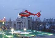 Spitalul Universitar de Urgenţă Bucureşti anunţă efectuarea primului zbor pe noul heliport de 1 milion de euro