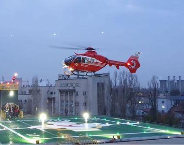 Spitalul Universitar de Urgenţă Bucureşti anunţă efectuarea primului zbor pe noul...
