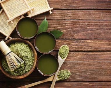 Matcha - una din cele mai importante surse de antioxidanți