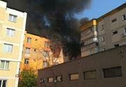 Explozie în balconul unui apartament. O tânără a ajuns la spital cu răni la mâini şi picioare
