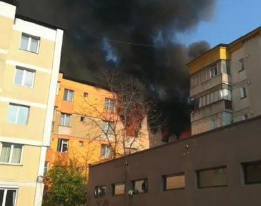 Explozie în balconul unui apartament. O tânără a ajuns la spital cu răni la mâini şi...
