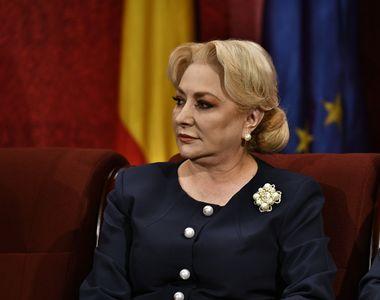 Viorica Dăncilă, în vizită electorală la Buzău