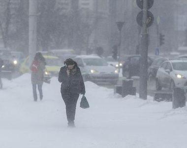 Val polar în România. Directorul executiv al ANM, anunţ şoc: ger şi viscol puternic