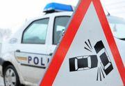 Cinci răniţi, între care un copil, în urma unui accident rutier produs pe Valea Prahovei