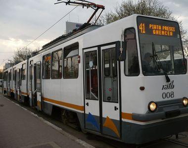 Bărbat accidentat de tramvai, în Bucureşti, la intersecţia Mihai Bravu- Baba Novac