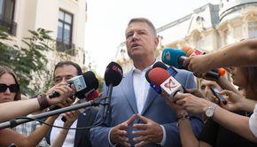 Klaus Iohannis participă marţi la dezbaterea organizată de echipa sa de campanie