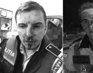 Anchetă după ce doi poliţişti aflaţi în misiune au fost loviţi, ameninţaţi şi...