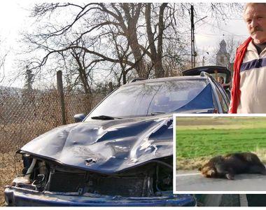 El este bărbatul care a lovit cu mașina usul din Harghita. Ce s-a întâmplat cu el după...