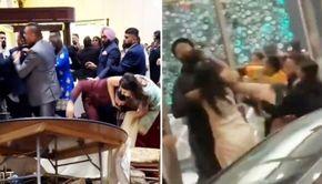 VIDEO | Bătaie generală la o nuntă cu pretenții