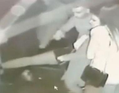 Imagini șocante într-un club din Alba. O polițistă a fost bătută de un interlop