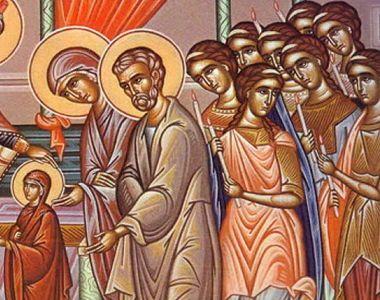 Tradiții și superstiții. Românii sărbătoresc intrarea în Biserică a Maicii Domnului