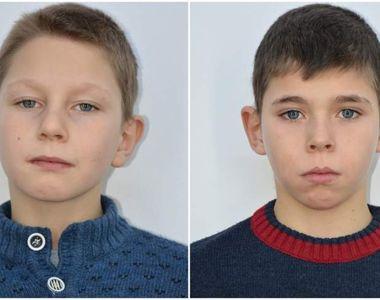 Codruţ şi Cosmin, cei doi fraţi dispăruţi în Suceava, au fost găsiţi