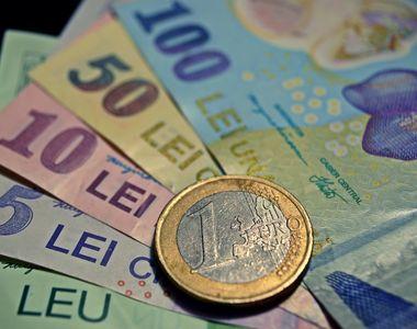 Euro a depăşit 4,85 lei la băncile comerciale. Pe piaţa interbancară, euro a depăşit...