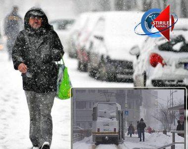 VIDEO | Iarna nu ne mai iartă! Temperaturile au scăzut drastic, iar ninsorile deja au...