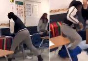 Caz șocant la o școală: elevă călcată în picioare de o profesoară