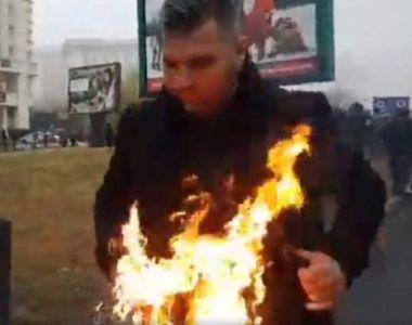 Ce face azi preotul care acum un an şi-a dat foc la sfinţirea Catedralei Neamului!...