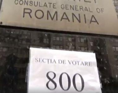 Alegeri prezidenţiale 2019 – Numărul alegătorilor care au votat la secţiile din...