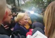 Alegeri prezidenţiale 2019 - Viorica Dăncilă: Am votat pentru o Românie care să meargă înainte, nu înapoi, spre vremuri în care nu aveam drepturi, nu aveam libertăţi