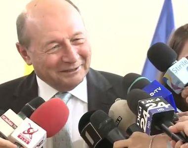 """Alegeri prezidenţiale 2019. Traian Băsescu, declarații înainte de vot: """"Dacă azi..."""