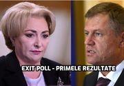 EXIT POLL alegeri - PSD și PNL. Care era diferența Iohannis - Dăncilă la ora 15