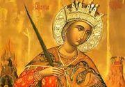 Sărbătoare mare luni. O sfântă importană apare în calendar. Multe românce îi poartă numele