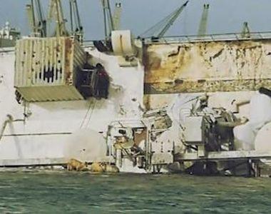 VIDEO | Navă cu 14.000 de oi la bord s-a scufundat la Constanța