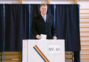 EXIT POLL IRES - Klaus Iohannis, victorie zdrobitoare în alegeri. Viorica Dăncilă, ca Vadim în 2000
