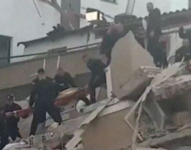 VIDEO | Imagini terifiante din timpul cutremurului din Albania. România trimite echipe...
