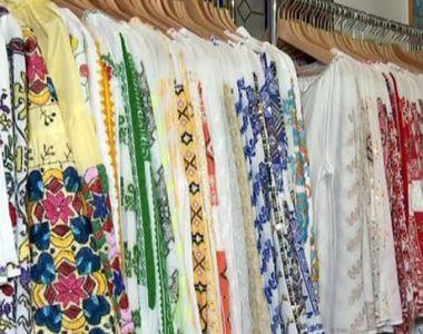 VIDEO | Cât costă o ie sută la sută românească, lucrată manual. Cămășile tradiționale,...