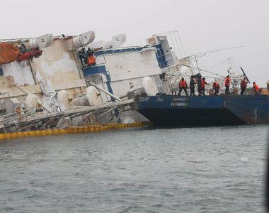 FOTO | Ultimele informații despre incidentul din portul Midia. Câte oi au fost salvate