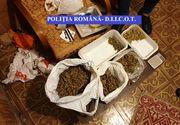 Percheziţii în Buzău şi Bucureşti, la persoane suspectate de trafic de droguri