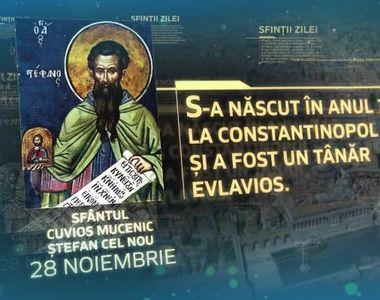 28 noiembrie zi de serbarea numelui pentru anumiți români. Vezi cine este prăznuit