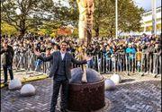 Malmo: Statuia fotbalistului Zlatan Ivrahimovici a fost vandalizată