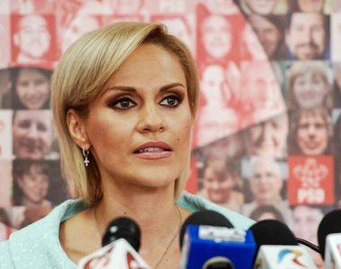 """Gabriela Firea spune că este """"exclusă"""" o candidatură a sa pentru funcţia de..."""