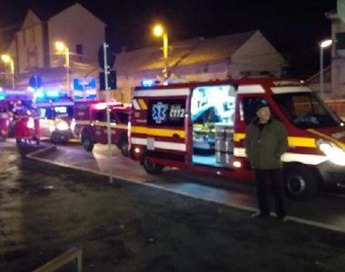 VIDEO | Mallul din Sibiu, evacuat de urgenţă! Cinci persoane au ajuns la spital