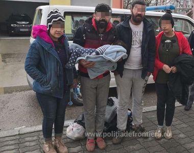 Caraş-Severin: Cinci irakieni, printre care şi un copil de un an, prinşi după ce au...