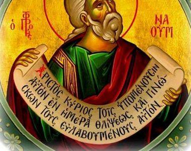 Sărbătoare ortodoxă de 1 decembrie. Românii prăznuiesc doi mari sfinți din calendar