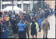 Un militar a căzut ca secerat în timpul paradei militare