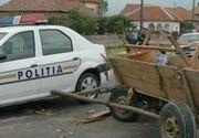 Accident grav la intrarea în Medgidia: o căruță a fost spulberată de o dubă. Un băiat de 17 ani a murit pe loc