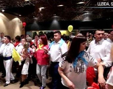 VIDEO | Cum au petrecut Ziua Națională românii din Spania