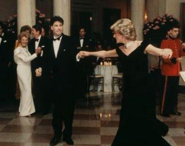 VIDEO | Rochia purtată de Prințesa Diana la Casa Albă, scoasă la licitație. Prețul de...