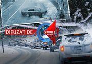 VIDEO | Iarna își arată colții. Poleiul face victime pe șosele și meteorologii vin cu vești proaste