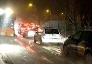 VIDEO | Vremea rea le-a dat bătăi de cap șoferilor, la munte